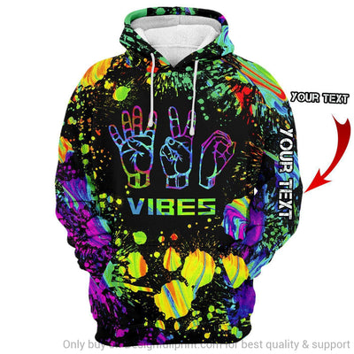 Personalized 420 Vibes Unisex Hoodie HG