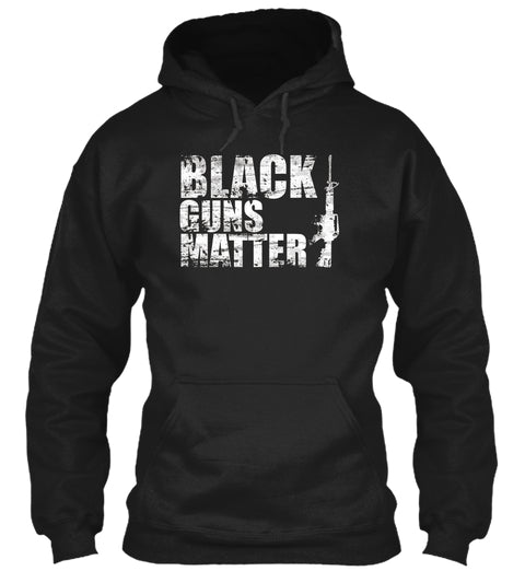Black Guns Matter T Shirt Ultra Cotton Shirt