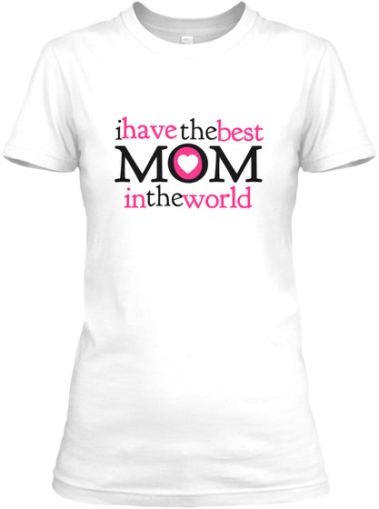 Worlds Best Mom Shirt Ultra Cotton Shirt