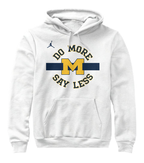 Do More Say Less Michigan Ultra Cotton Shirt