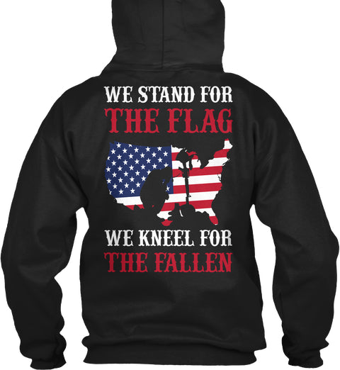 We Stand For The Flag And Kneel For The Fallen Ultra Cotton Shirt
