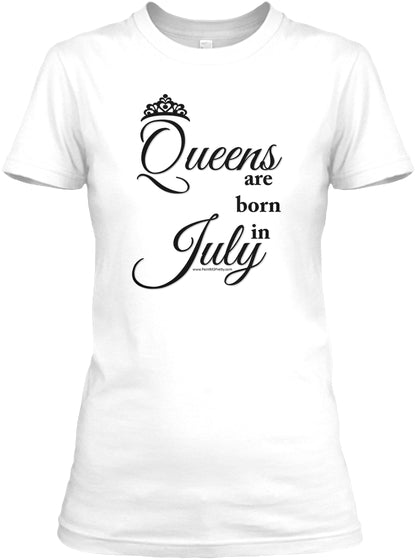 Queens Are Born In July Ultra Cotton Shirt