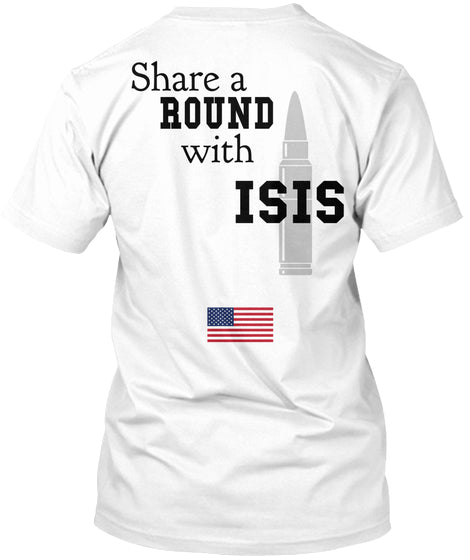 Share A Round With Isis Ultra Cotton Shirt