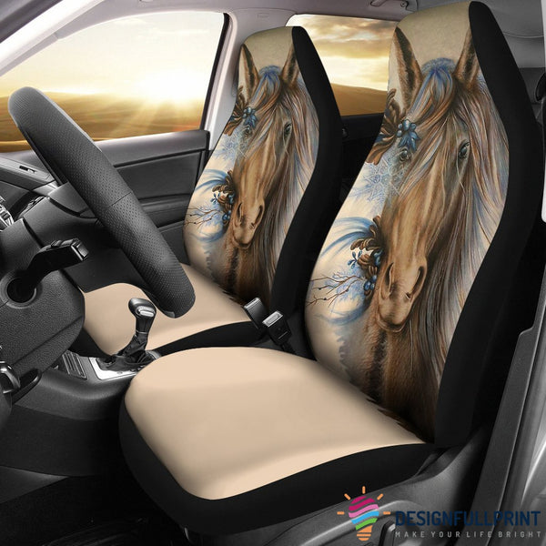 Awesome Horse Car Seat Cover