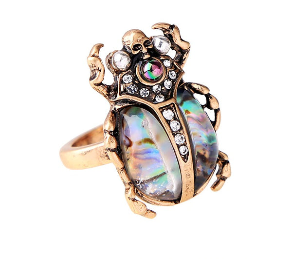 Skull Cute Insect Ring