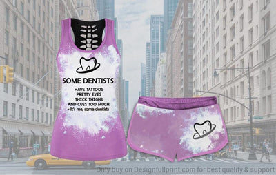 Some Dentists Tank and Shorts Set