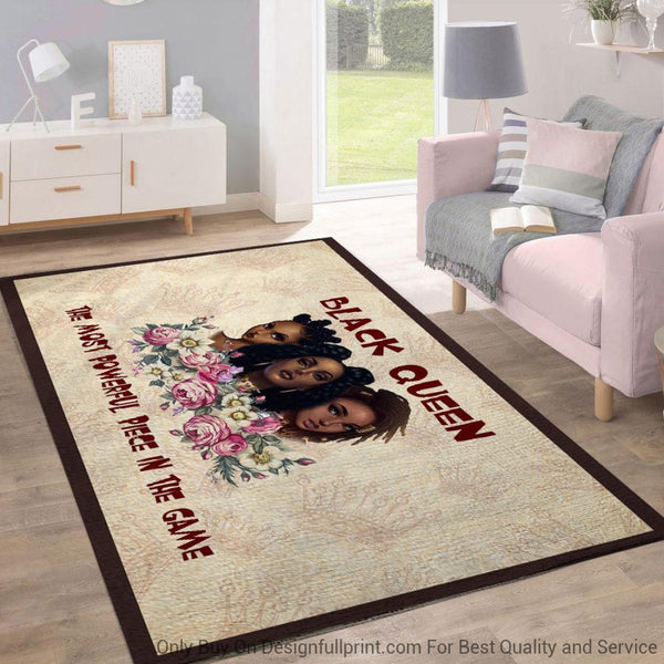 The Most Powerful Black Queens Rug
