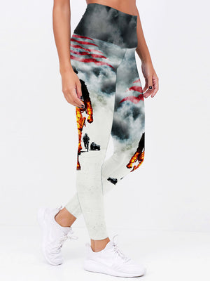 3D Armed Forces US Army Leggings 001 - designfullprint