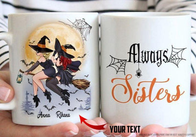 Witch Sisters Personalized Ceramic Mug