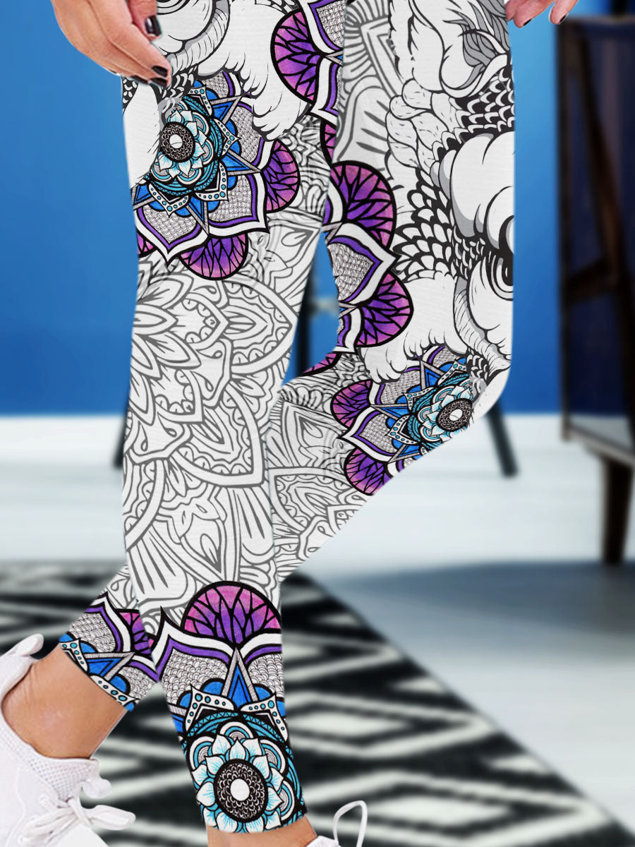 Mandala Leggings 01
