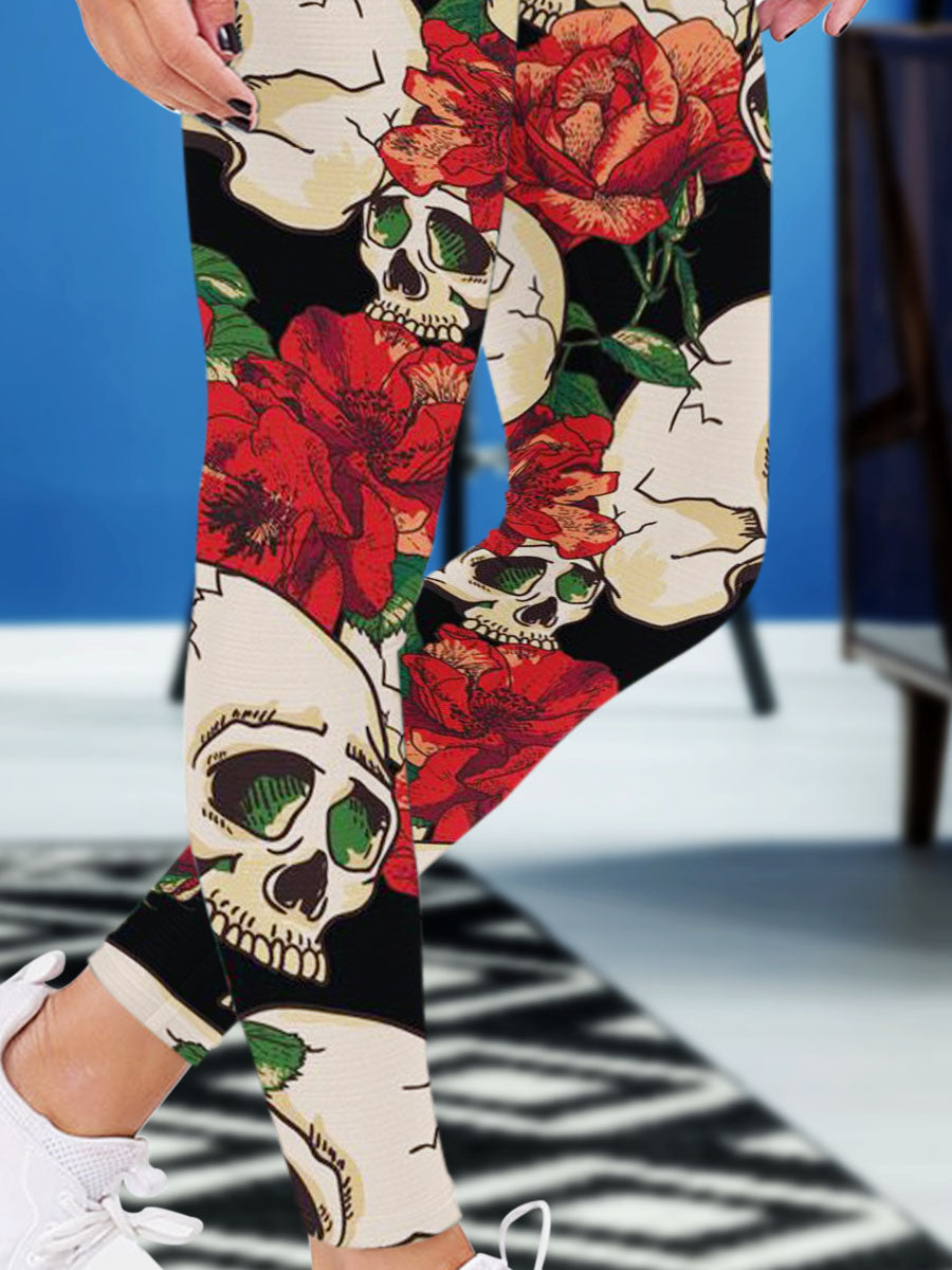 Limited Edition - Skull 3D Leggings