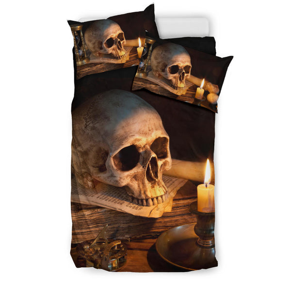 New Skull And Candles Bedding Sets