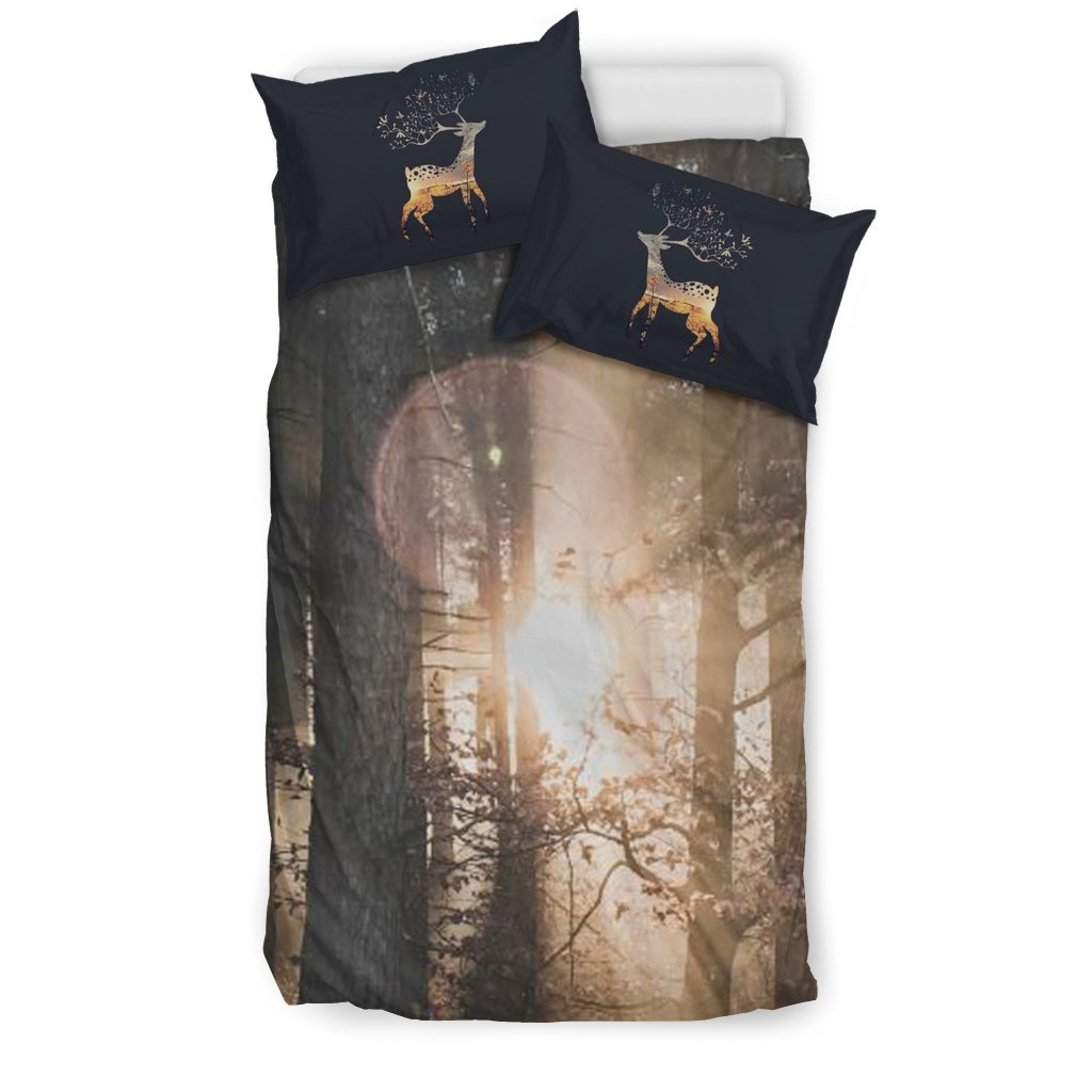 Camping Black Bedding Set 03 - designfullprint