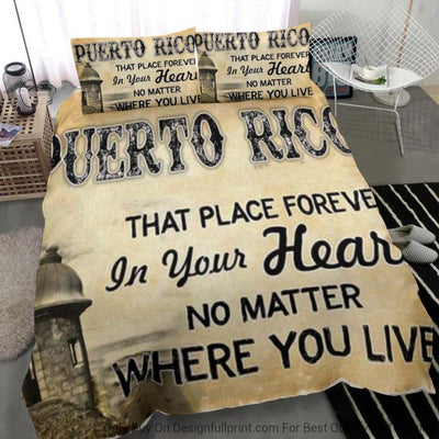 Puerto Rican Home Bedding