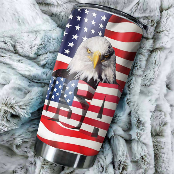 Eagle US Flag Tumbler
