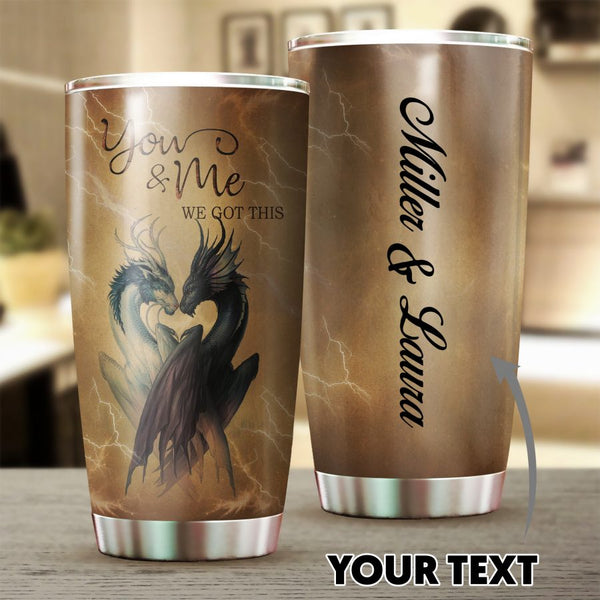 Dragon Couple Tumbler