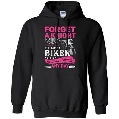 Forget A Knight In Shiny Armor I Take A Biker In Dirty Leather Ultra Cotton T-Shirt