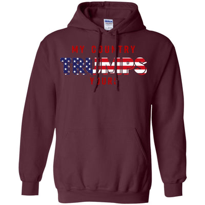My Country Trumps Yours American Patriotic Ultra Cotton T-Shirt - designfullprint