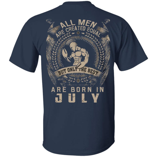 All Men are Equal But Born In July Shirts Ultra Cotton Shirt