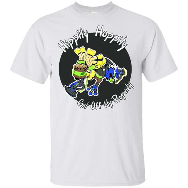 Hippity Hoppity Get Off My Property Lucio Ultra Cotton Shirt