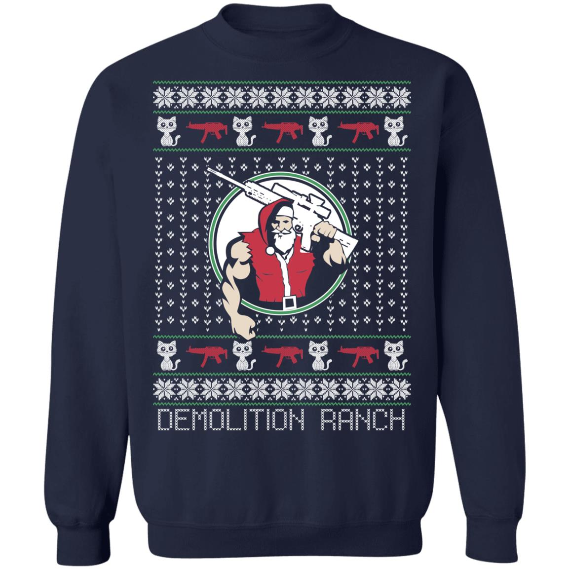 Demolition Ranch Christmas Sweater Ultra Cotton Shirt