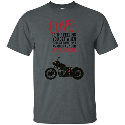 Love Is The Feeling You Get As With Your Bike Ultra Cotton T-Shirt
