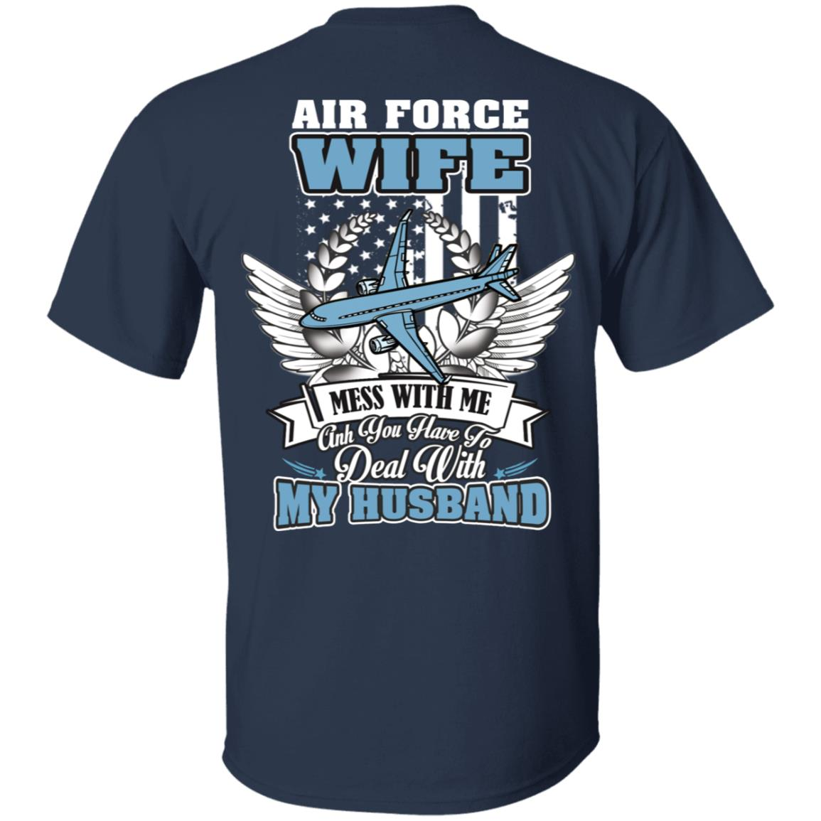 Air Force Wife Shirt Ultra Cotton Shirt