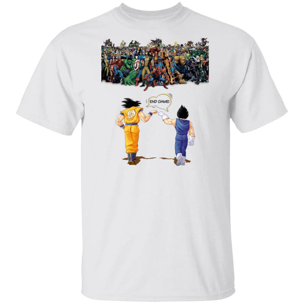 Dragon Ball Songoku Vegata Avenger Endgame Ultra Cotton T-Shirt