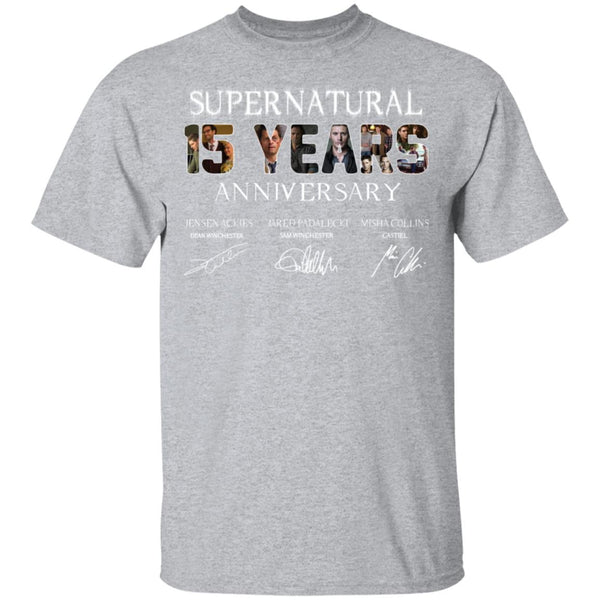 Supernatural 15 years anniversary Ultra Cotton Shirt