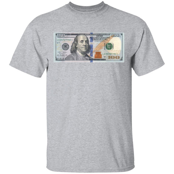 100 Dollar Bill Shirt Ultra Cotton Shirt