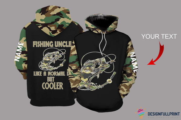 Fishing Uncle Personalized US Unisex Size Hoodie