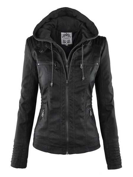 Cool Black Leather Jacket - designfullprint