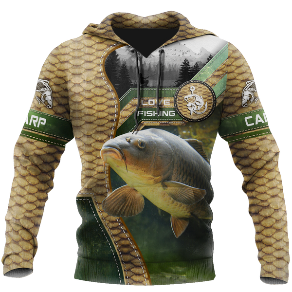 Carp fishing Master camo 3d all over printed shirts for men and women TR1805201S