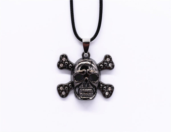 Skull Metal Necklace - designfullprint