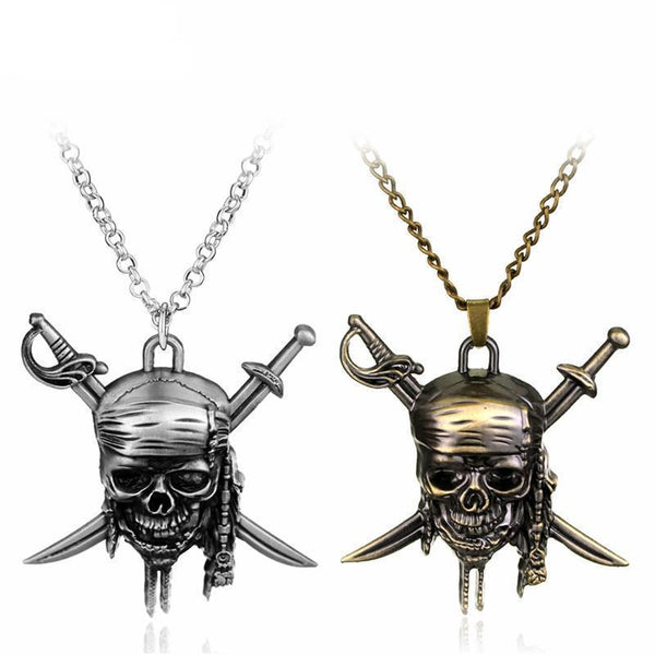 Skull Pendant Jack Necklaces - designfullprint
