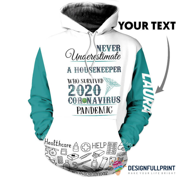New Personalized  A Housekeeper US Unisex Size Hoodie