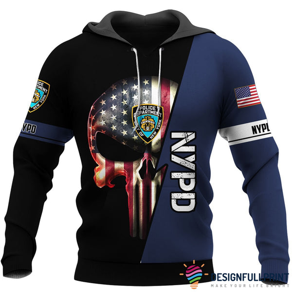 NYPD US Unisex Size Hoodie