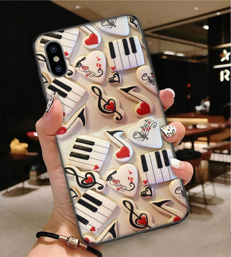 Piano Music Is My Love Phone Case CM
