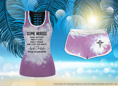 Nurse Tank Shorts Set