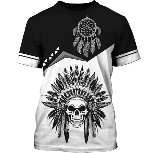 Native Skull T-shirt