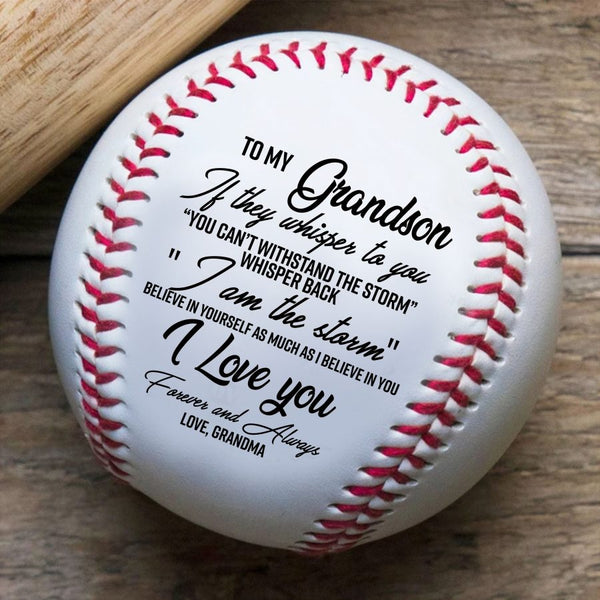 Grandmom to Grandson Premium Base Ball