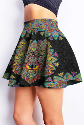 Mandala Art 3D Skirt 04