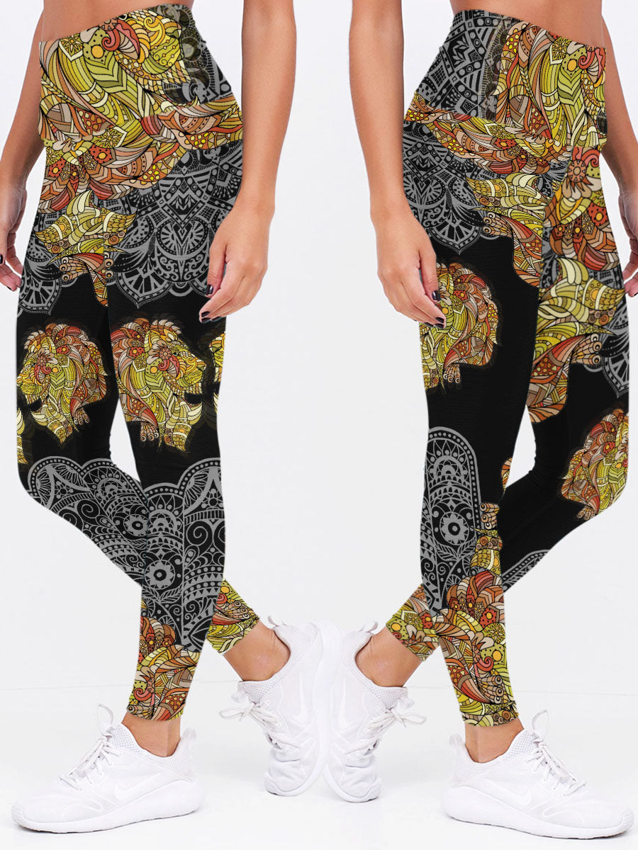 Mandala 3D Leggings