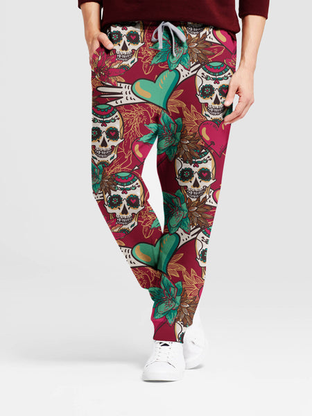 Skull Art 3D Pants - designfullprint