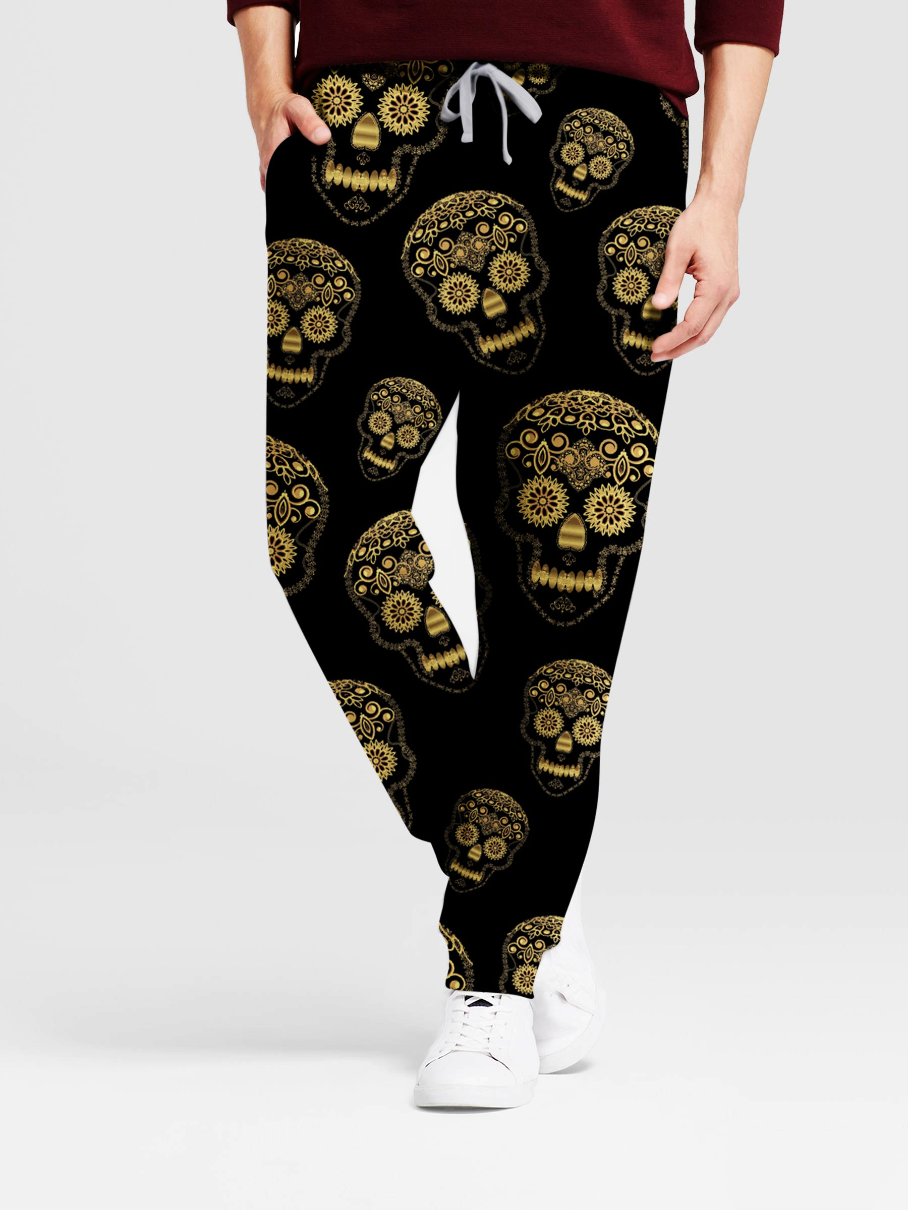 Skull Art 3D Pants 02 - designfullprint