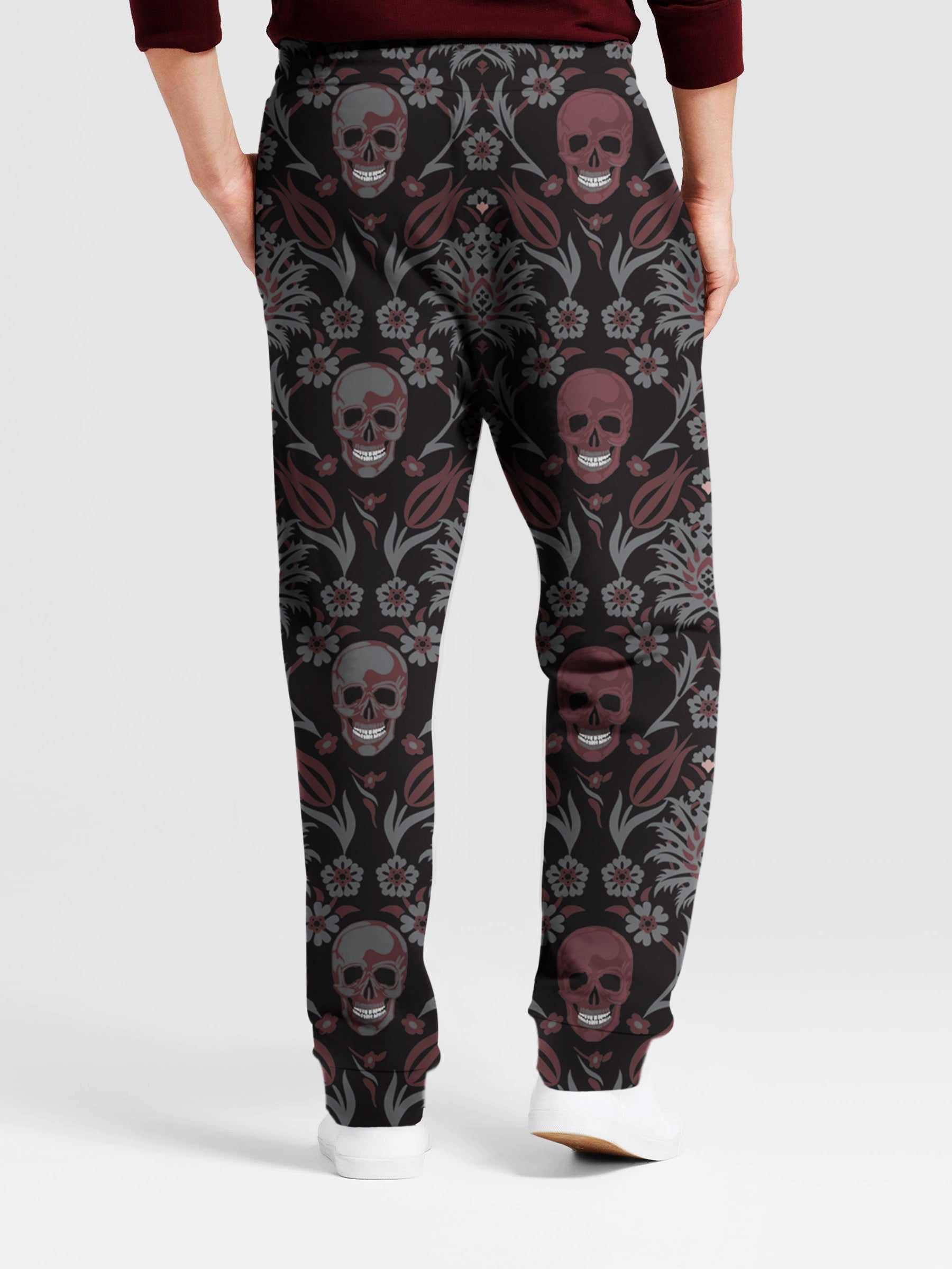 Skull Art 3D Pants 03 - designfullprint