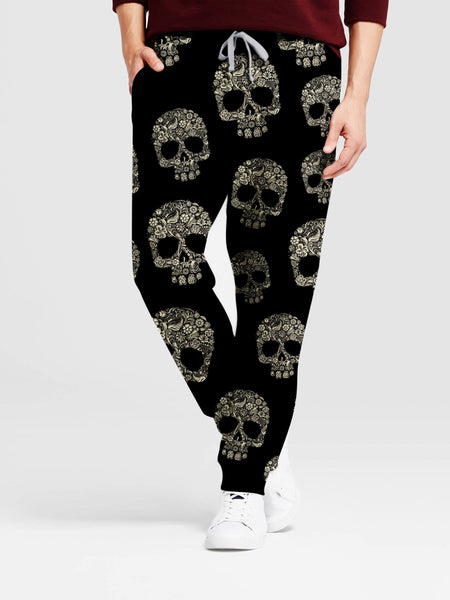 Skull 3D Art Pants 007 - designfullprint