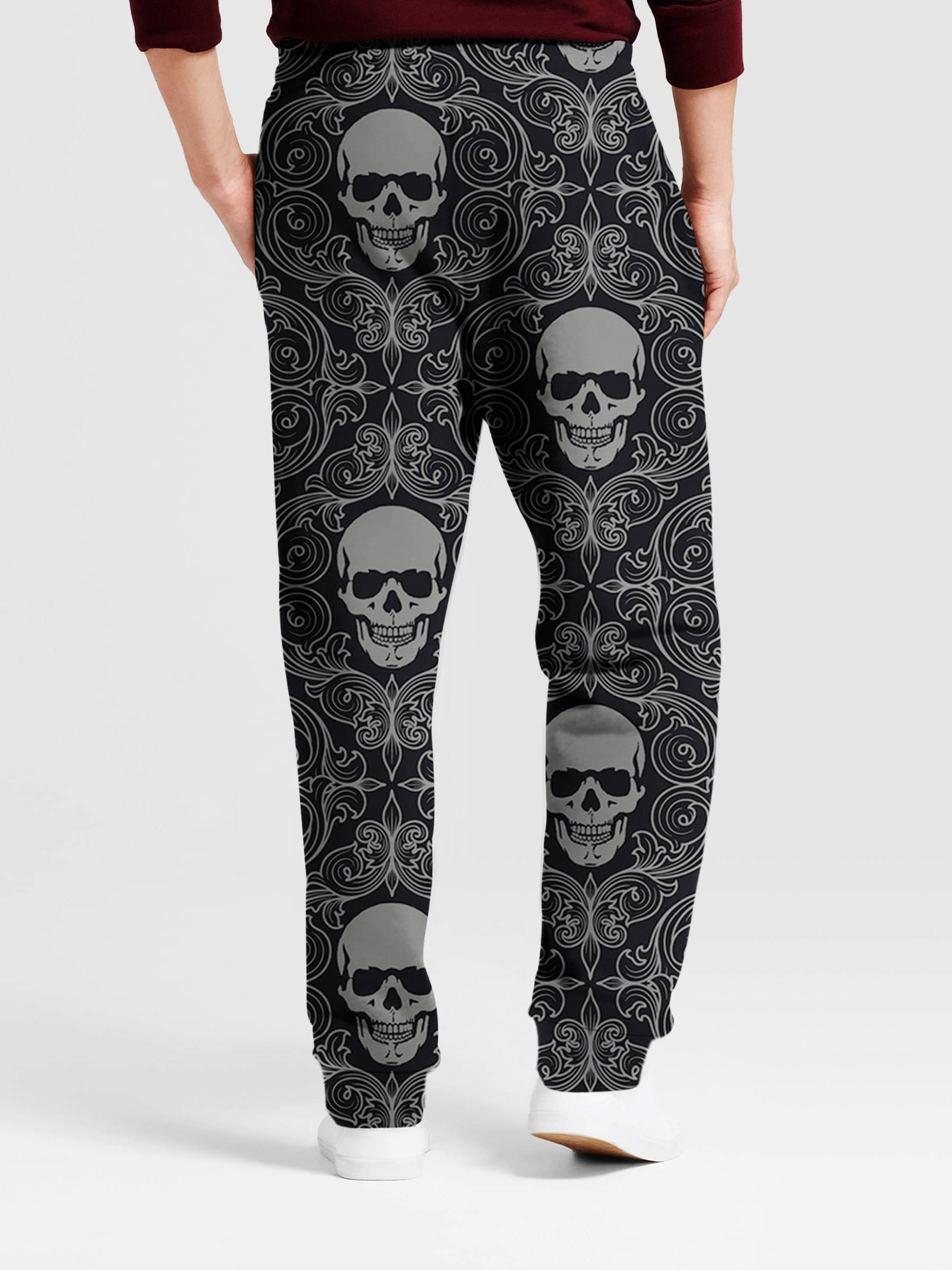 Skull 3D Art Pants 008 - designfullprint