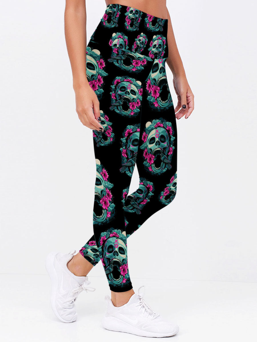 Skull Art Leggings 11