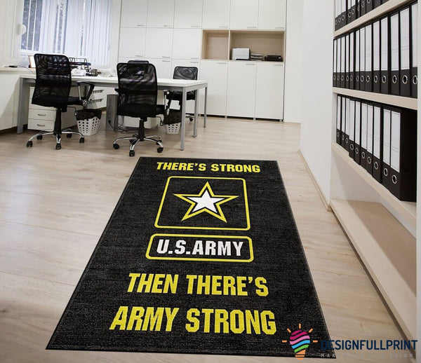 U.S Army Strong Rug